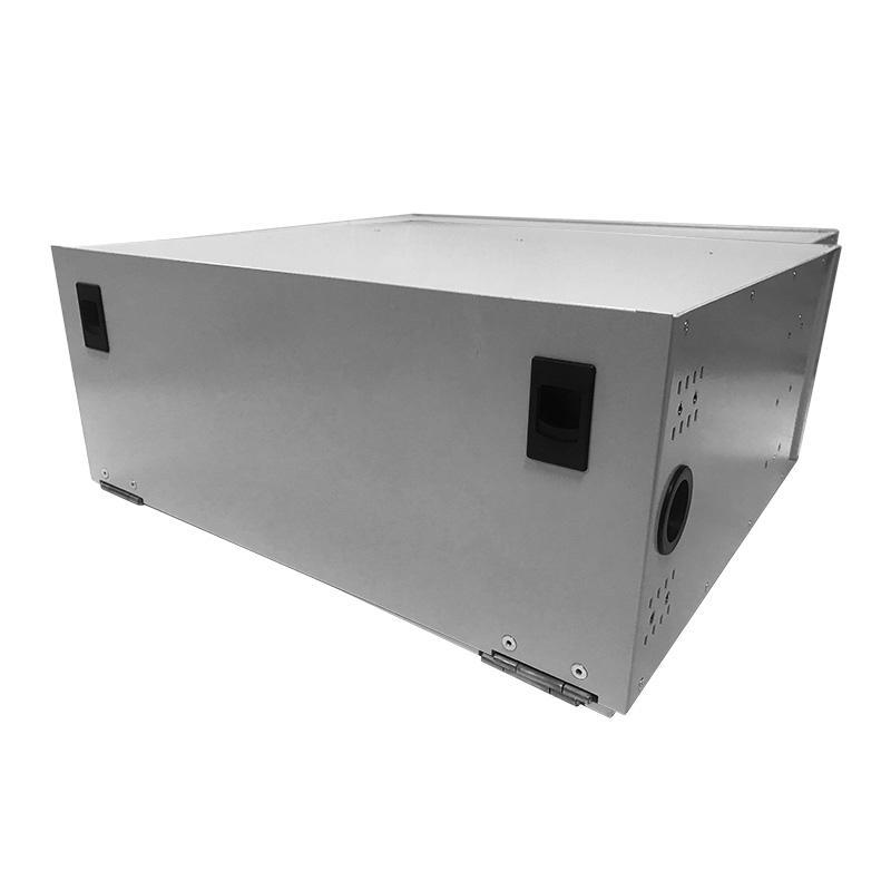 4U 96 Port Fiber Optic Distribution Frame, 24 Cores Splice Tray