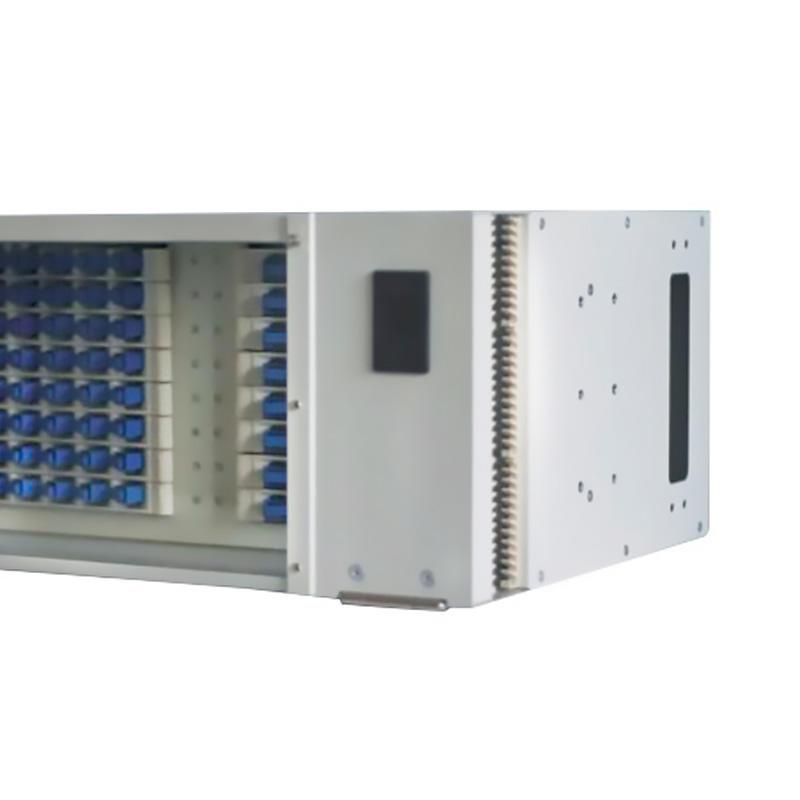 4U 96 Port Fiber Optic Distribution Frame, 24 Cores Splice Tray, B Type