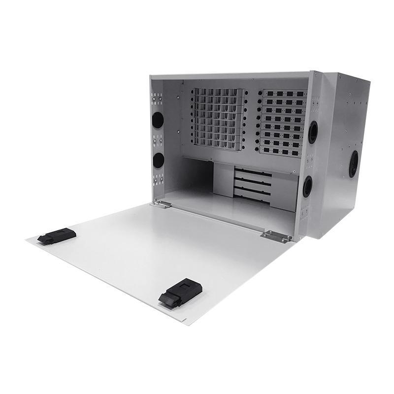 6U 96 Port Fiber Optic Distribution Frame, 24 Cores Splice Tray