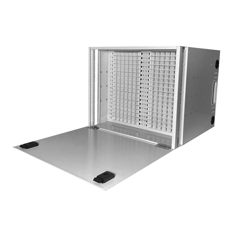 8U 216 Port Fiber Optic Distribution Frame, 24 Cores Splice Tray