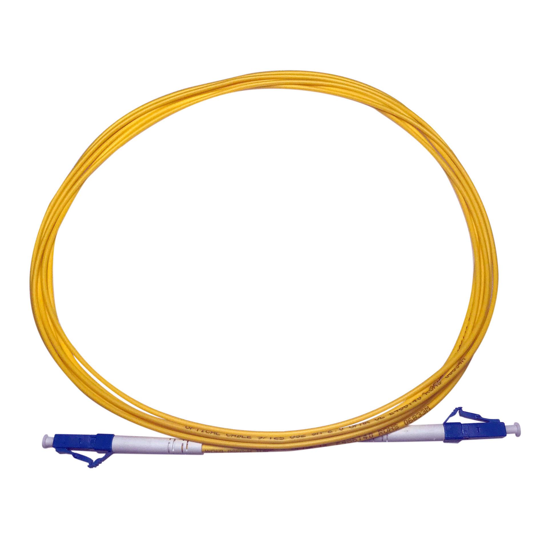 LC/UPC Simplex Fiber Optic Patch Cord