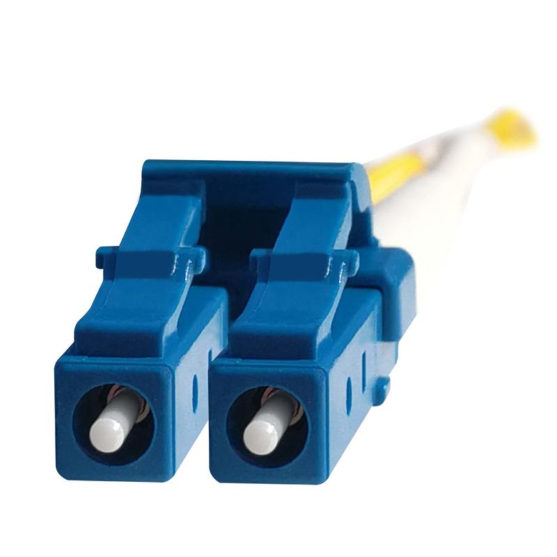 LC/UPC Duplex Fiber Optic Patch Cord
