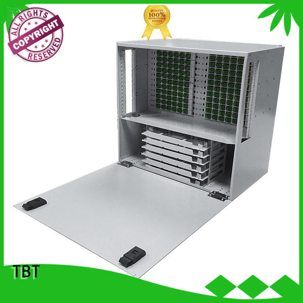 TBT shaped odf rack for business intelligent monitoring systems