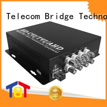 TBT best fiber video converter manufacturer intelligent monitoring systems