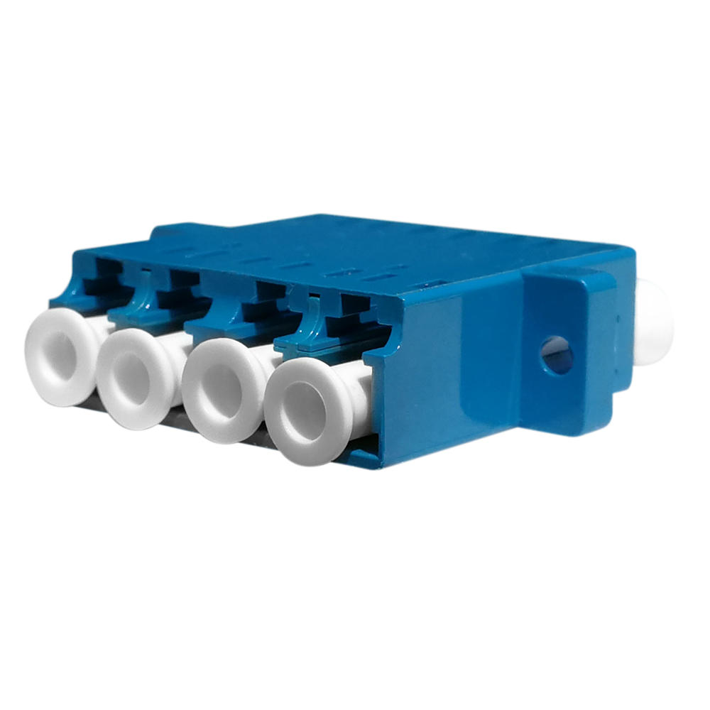 LC Quadruplex Fiber Optic Adapter