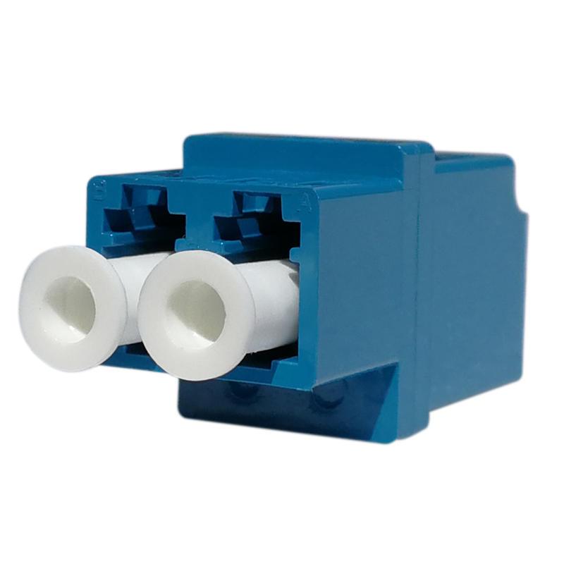 LC Duplex Fiber Optic Adapter High Type