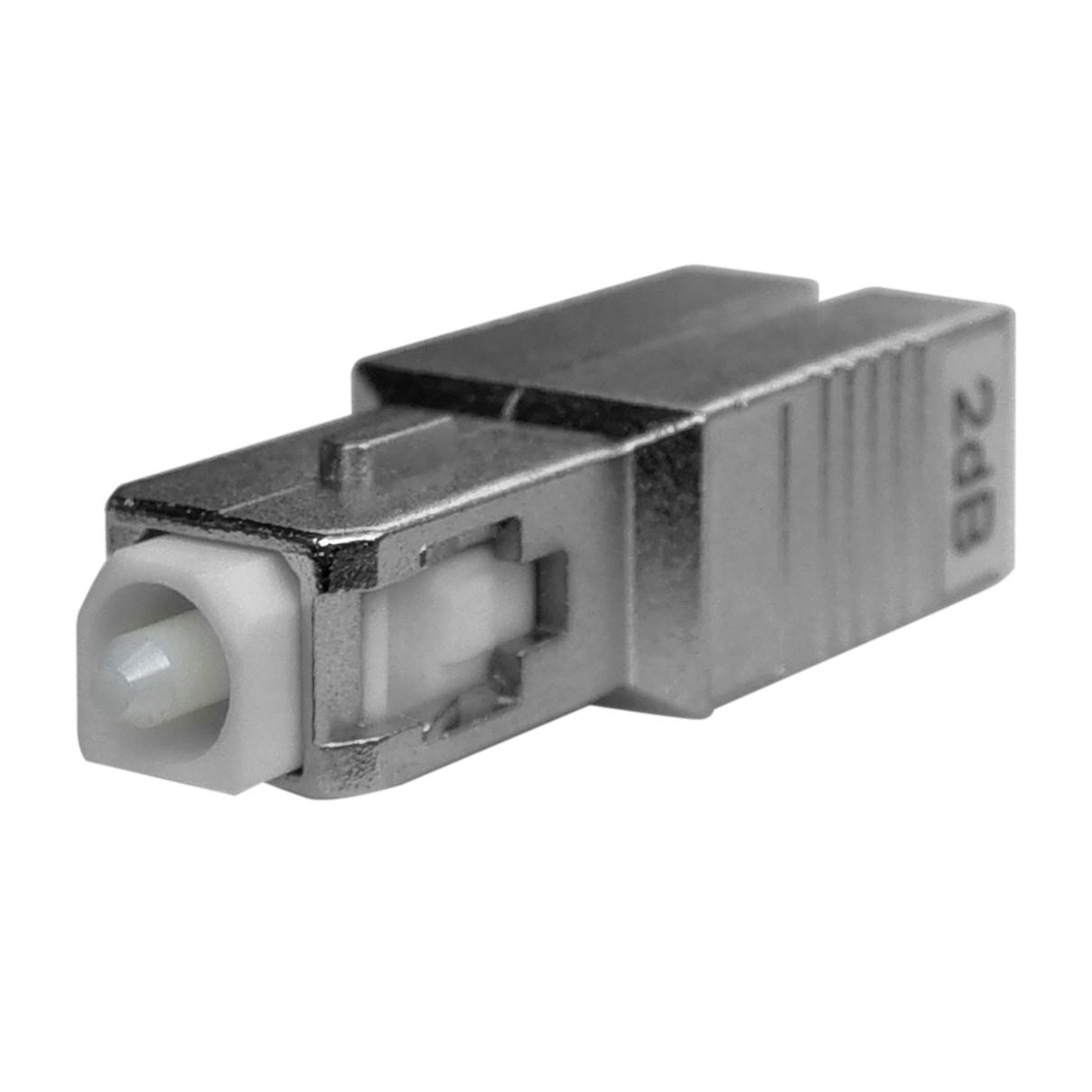 SC Male to Female - Fiber Optic Attenuator