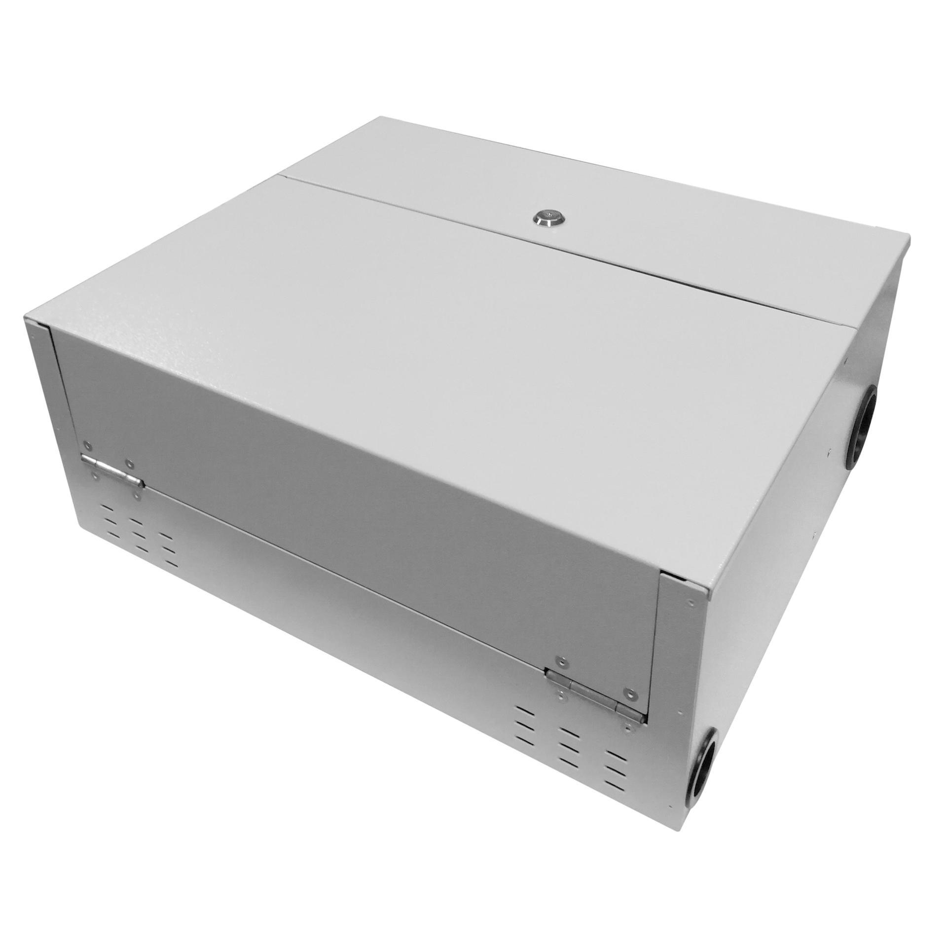 96 Port WODF Fiber Optic Distribution Box, 24 Cores Splice Tray