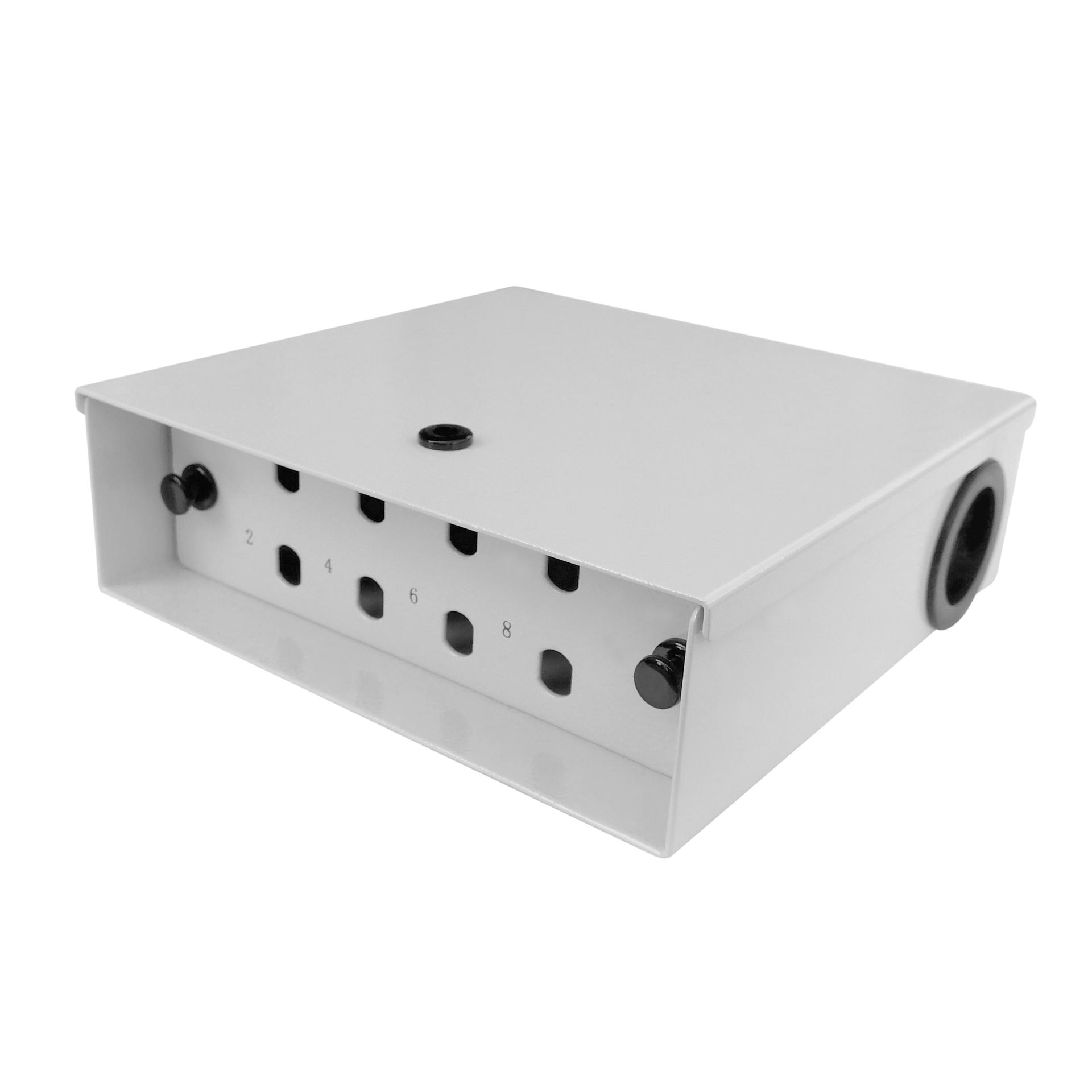 8 Port WODF Fiber Optic Distribution Box, ST Simplex