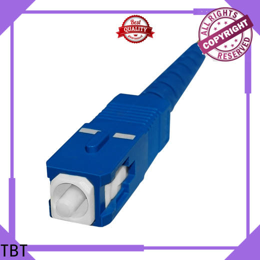 TBT scupc fiber optic patch cord supplier for business home smart electronics