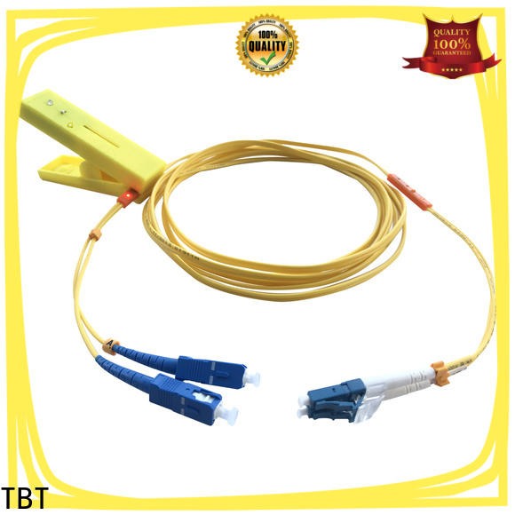 TBT Custom traceable fiber optic patch cord company home smart electronics