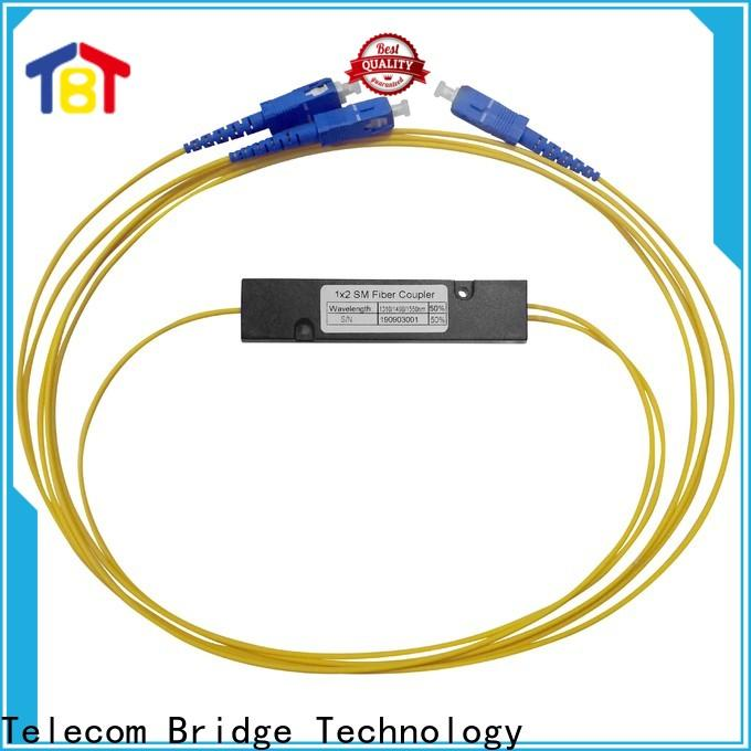 TBT 1x2 optic fiber splitter coupler for business electronic consumer products
