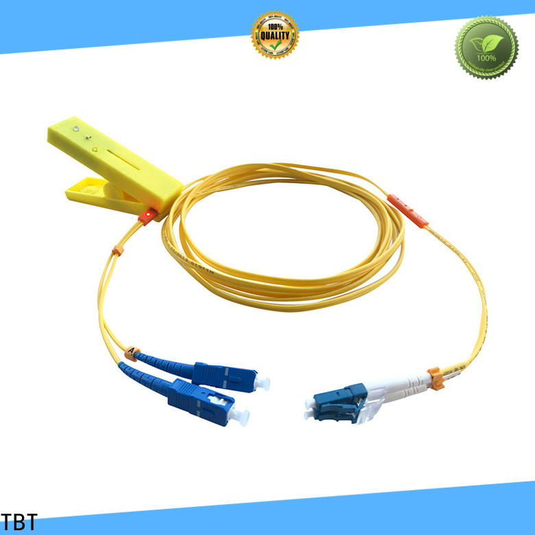 TBT New led tracing fiber patch cord supply intelligent monitoring systems