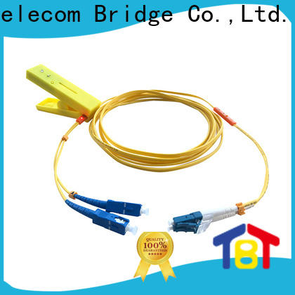 New traceable fiber optic patch cord patch supply intelligent monitoring systems