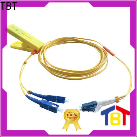 TBT New led tracing fiber patch cord company intelligent monitoring systems