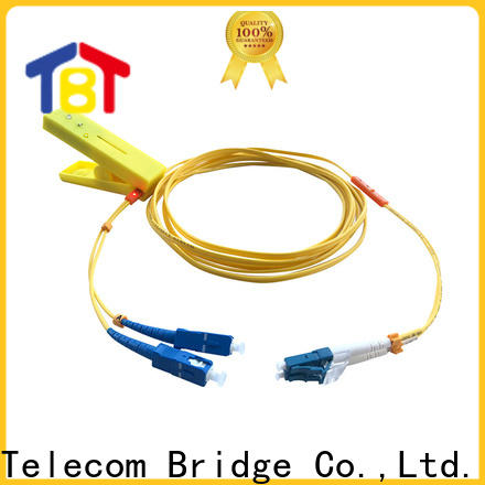 TBT led optical tracer patch cord factory intelligent monitoring systems