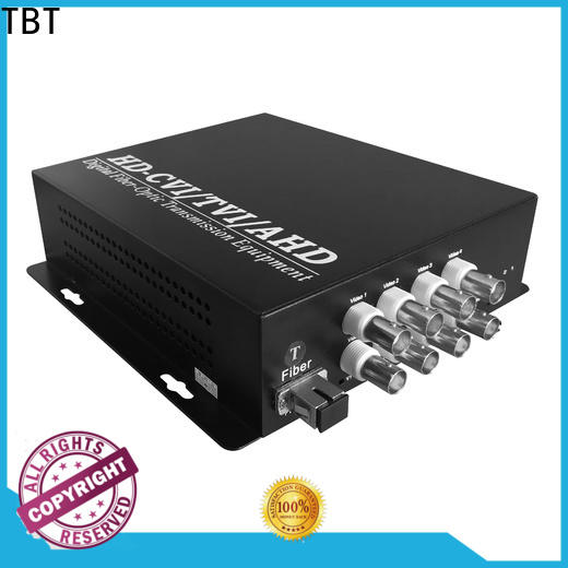 TBT New fiber video converter manufacturers electronic consumer products