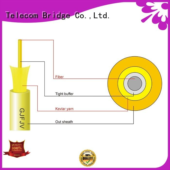 TBT low price indoor fiber optic cable manufacturer electronic consumer products