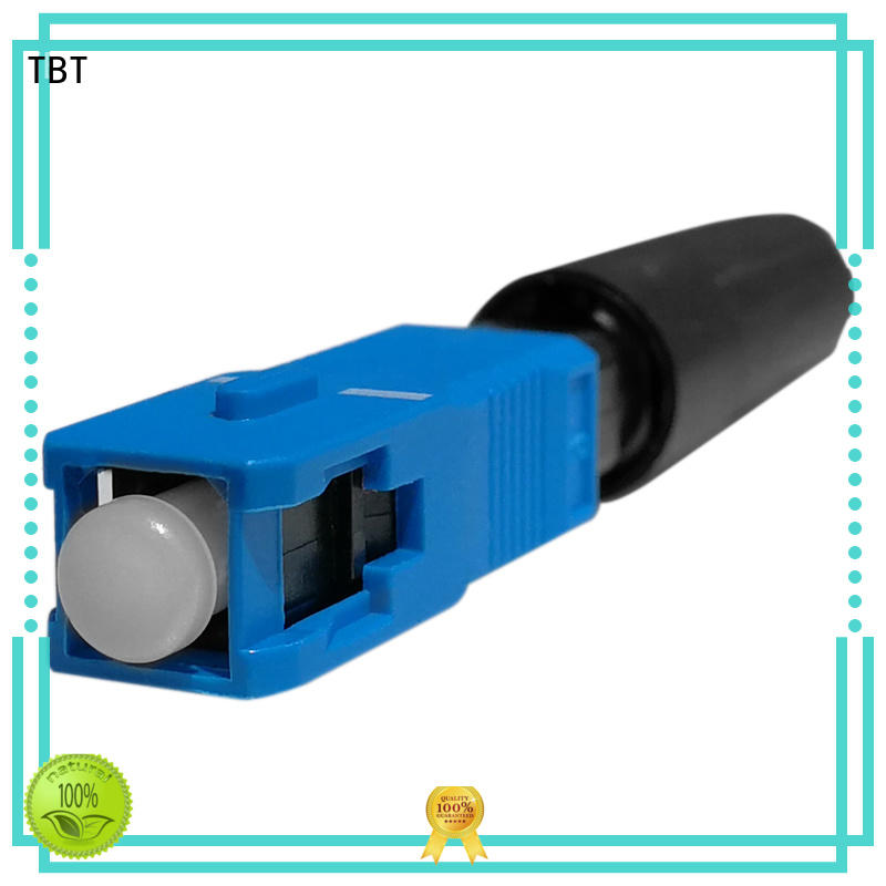 TBT fiber connectors custom design intelligent monitoring systems