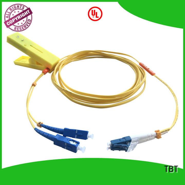 TBT Custom led tracing fiber patch cord factory electronic consumer products