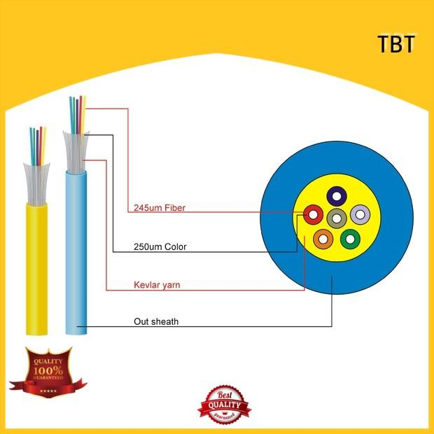 TBT online indoor fiber optic cable factory price intelligent monitoring systems