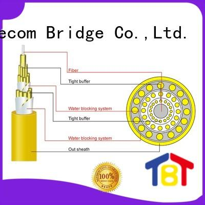 TBT optical indoor fiber optic cable manufacturers intelligent monitoring systems