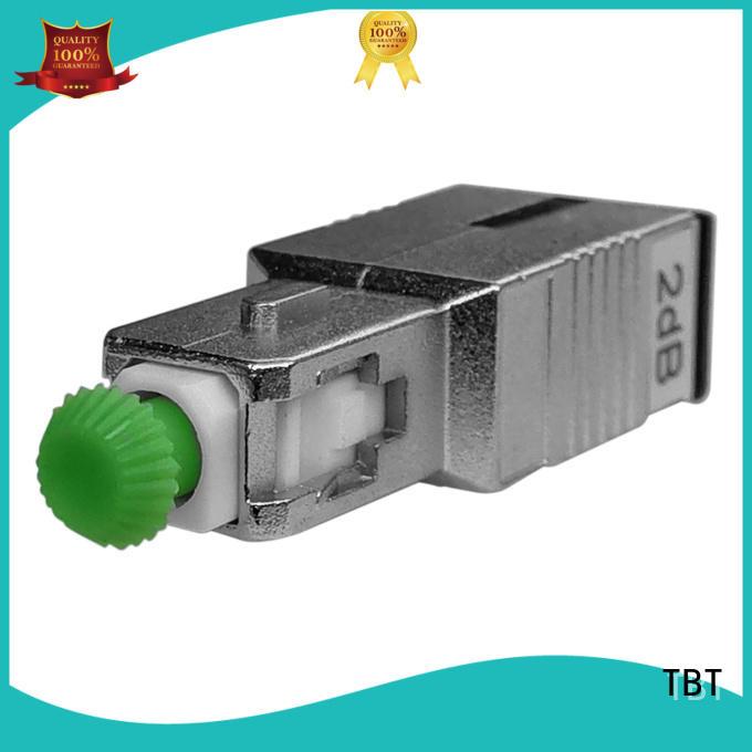 TBT optical fiber attenuator fabrication intelligent monitoring systems