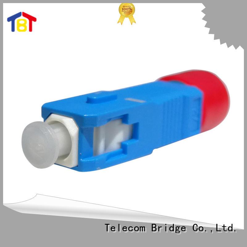 Custom fiber optic adapters duplex factory intelligent monitoring systems