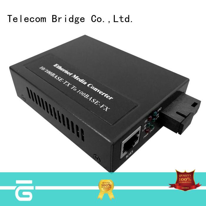 TBT wholesale gigabit ethernet fiber media converter media