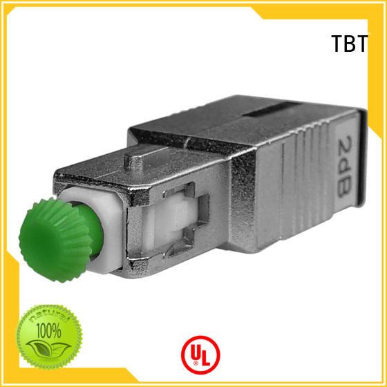 TBT hot sale fiber optic attenuator custom design intelligent monitoring systems