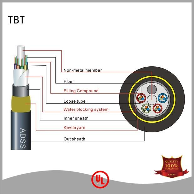 TBT Custom outdoor fiber patch cable for business home smart electronics