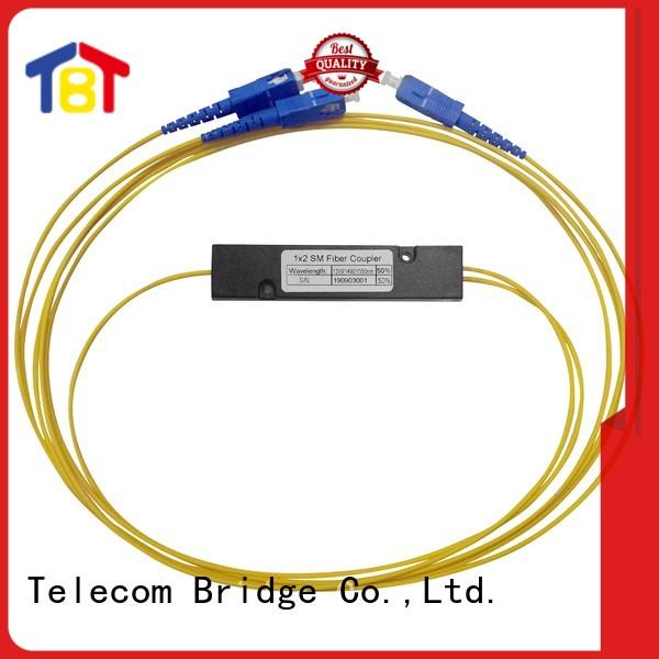 TBT Latest optic fiber splitter coupler for business home smart electronics