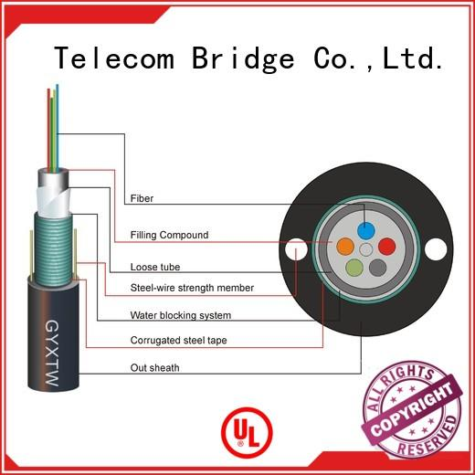 TBT bespoke outdoor fiber optic cable maker intelligent monitoring systems