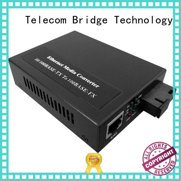 TBT 100m fiber optic media converter manufacturers