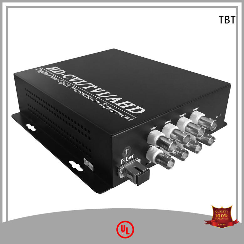 TBT Top optical video converter for business intelligent monitoring systems