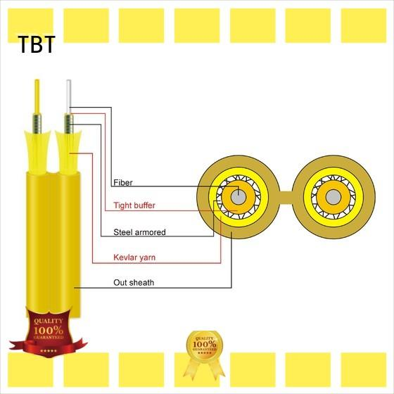 TBT New armored fiber optic cable factory intelligent monitoring systems