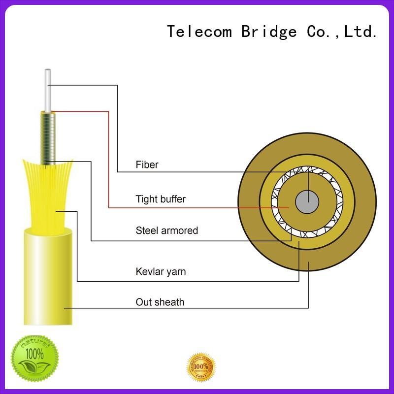 TBT wholesale armored fiber optic cable single mode home smart electronics