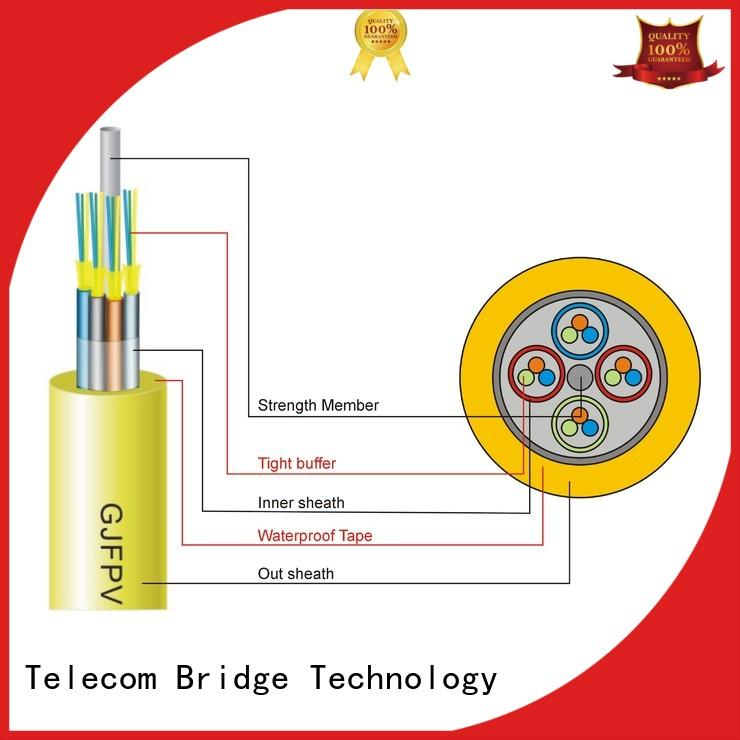 TBT loose indoor optical cable for business intelligent monitoring systems