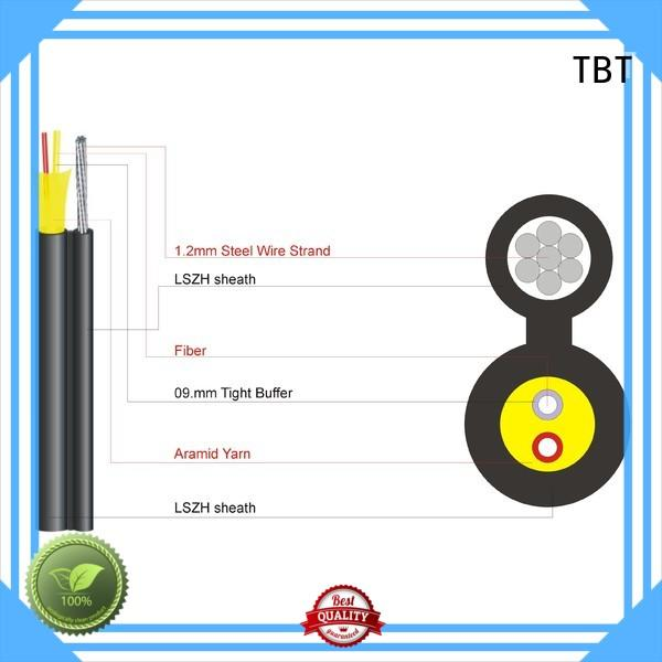 TBT Latest ftth optical fiber cable for business intelligent monitoring systems